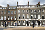 Bedford Square Bloomsbury London WC1 England UK ( north side )