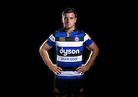 George Ford poses for a portrait at a Bath Rugby photocall. Bath Rugby Media Day on August 24, 2016 at Farleigh House in Bath, England. Photo by: Rogan Thomson / JMP / Onside Images