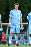 21 September 2012: UNC's Martin Murphy. The University of North Carolina Tar Heels defeated the University of Virginia Cavaliers 1-0 at Fetzer Field in Chapel Hill, North Carolina in a 2012 NCAA Division I Men's Soccer game.
