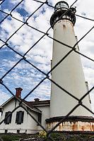 Still waiting for structural renovation, the lighthouse at Pigeon Point remains off limits.