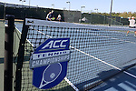 23 April 2015: The Notre Dame University Fighting Irish played the Georgia Tech University Ramblin' Wreck at the Cary Tennis Park in Cary, North Carolina in a 2015 NCAA Division I Men's Tennis and Atlantic Coast Conference Tournament First Round match. Georgia Tech won the match 4-0.