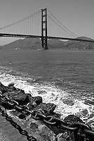 Golden Gate Bridge from Fort Point, San Francisco, CA