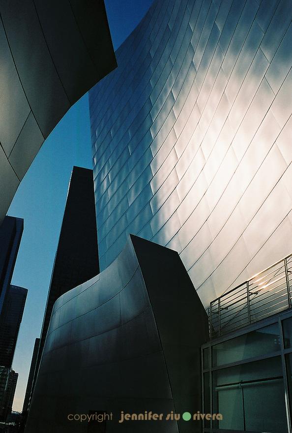 Walt Disney Concert Hall by architect Frank Gehry, Los Angeles, California