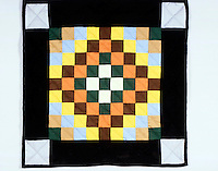 QUILT PATTERNS<br /> (Variations Available)<br /> Sunshine And Shadows Pattern. Also known as &quot;Trip Around The World&quot;.
