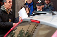 One of the 24 arrested by Carabinieri.<br /> The Carabinieri of the Rome Provincial Command  have arrested 23 people suspected of being part of a group dedicated to robbery in the house.  At the head of the criminal group Manlio Vitale, said &quot;er Gnappa&quot;, formerly of the Magliana gang. About 200 Carabinieri, with the help of sniffer dogs and a helicopter, they performed arrests, searches and seizures in the entire province of Rome. Rome Italy. 15th March 2016