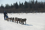 Photographs of John Baker's 2011 Iditarod run. Outside of the Anvik checkpoint. Stephen Nowers/Alaska Dispatch