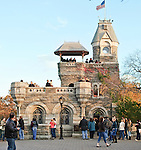 Belvedere Castle, located in Central Park, New York City