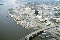 1983 June ..Redevelopment.Downtown South (R-9)..LOOKING NORTHWEST...NEG#.NRHA#..