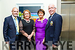 At the Tralee Golf Club Captains Dinner in Ballyroe Heights Hotel on Saturday were Pat Williams, Ann McGlenn, Margaret Murphy and John Murphy, President TGC
