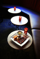 Flat-iron steak at Dahlia Lounge. (Photo by Scott Eklund)