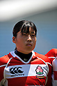 Mio Suzuki (JPN), .MAY 19, 2012 - Rugby : Woman's Rugby Test match between Japan women's 61-15 Hong Kong women's at Chichibunomiya Rugby Stadium, Tokyo, Japan. (Photo by Jun Tsukida/AFLO SPORT)