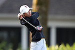 28 October 2016: Texas Tech University's Caralyn Barker. The First Round of the 2016 Landfall Tradition NCAA Women's Golf Championship hosted by the University of North Carolina Wilmington Seahawks was held at the Pete Dye Course at the Country Club of Landfall in Wilmington, North Carolina.