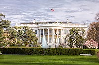 White House Washington DC<br /> The White House is the official residence and principal workplace of the President of the United States.  Located at 1600 Pennsylvania Avenue NW in Washington D.C.  The White House complex includes the Executive Residence, the West Wing, ( the location of the Oval Office, Cabinet Roon, and Roosevelt Room ) and the East Wing,  Lafayette Park is located across Pensylvania Ave.  A National Landmark and popular tourist attraction in Washington DC