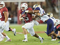 STANFORD, CA - October 24, 2015: The Stanford Cardinal vs the Washington Huskies at Stanford Stadium in Sanford, CA. Final score Stanford 31, Washington Huskies 14.