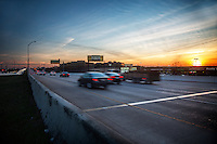 Highway 183 Research Blvd. is Austin's most heavily trafficked highway with stop and go traffic jams during morning and afternoon rush hour.