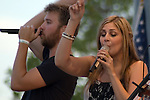 Lady Antebellum plays the 2008 Country Music Fest at Soldier Field in Chicago