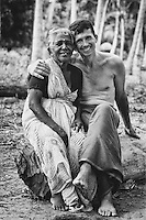 Patrick Harrigan and Bebi Amma. 1999<br />
