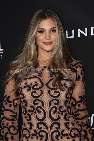 HOLLYWOOD, CA - JULY 11: Natalie Pack at the premiere of Undrafted at the Arclight in Hollywood, California on July 11, 2016. Credit: David Edwards/MediaPunch