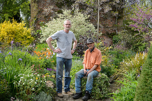 Mike Werkmeister & Head Gardener Mark Stainer