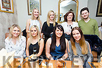 Alliance Medical staff night out at Bella Bia's on Friday Pictured Front l-r Breda Griffin, Michelle Young, Ailíse O'Dowd, Danielle O Leary, Back l-r Aine Donovan, Siobhan Griffin, Geraldine Counihan, Dr.  Ramzan