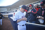 Former Rebel Matt Tolbert signs autographs at Ole Miss baseball alumni game at Oxford-University Stadium in Oxford, Miss. on Saturday, February 5, 2011.