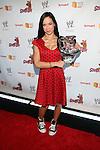WWE Diva AJ Lee Attends World Premiere of Scooby Doo! WrestleMania Mystery Held at Tribeca Cinemas, NY