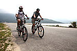 Wounded Afghanistan and Iraq war veterans Gabe Monreal (left) and Yancy Baer (right) bicycle through central Vietnam as part of a six-day ride last week to raise money for Vietnam veterans who want to return for the first time, but cannot afford it. Monreal, 36, of San Antonio, Texas, lost his lower left leg in a bomb explosion in Afghanistan in 2010. Baer, 42, of Choctaw, Okla., lost his lower left leg to cancer after sustaining a non-battle injury in Iraq in 2009. The pair say that Vietnam veterans have supported them the most during their wartime service and rehabilitation and now they want to return the favor. Along with two other veterans not pictured, they helped raise more than $40,000 for the cause through the group Operation Comfort. April 1, 2014.