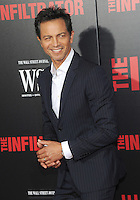 """NEW YORK, NY - July 11:  Benjamin Bratt attends the New York remiere of """"The Infiltrator"""" at the Loewa AMC on July 11, 2016 in New York City.Photos  by: John Palmer/ MediaPunch"""