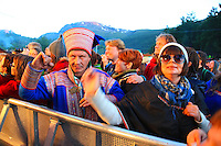 There are so many outdoor, music festival in Norway every summer, and the audience love it. Riddu Ridd in the county of Troms in northern Norway is an international festival for indiginous people.