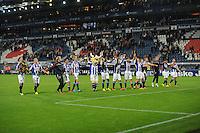 VOETBAL: HEERENVEEN: Abe Lenstra stadion 30-08-2014, SC Heerenveen - FC Utrecht uitslag 3-1, ©foto Martin de Jong