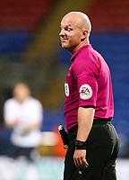 Referee Simon Hooper<br /> <br /> Photographer Alex Dodd/CameraSport<br /> <br /> The EFL Sky Bet League One - Bolton Wanderers v Bury - Tuesday 18th April 2017 - Macron Stadium - Bolton<br /> <br /> World Copyright &copy; 2017 CameraSport. All rights reserved. 43 Linden Ave. Countesthorpe. Leicester. England. LE8 5PG - Tel: +44 (0) 116 277 4147 - admin@camerasport.com - www.camerasport.com