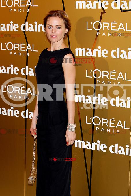 Veronica Blume attends Marie Claire Prix de la Moda awards 2012 at French Embassy in Madrid. November 22, 2012. (ALTERPHOTOS/Caro Marin) /NortePhoto