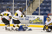 - The Wentworth Institute of Technology Leopards defeated the Salve Regina University Seahawks 2-1 on Tuesday, November 12, 2013, at Tsongas Arena in Lowell, Massachusetts.