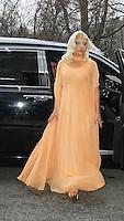 DEC 17 Lady Gaga Seen In New York City