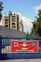 Colleferro.Stabilimento .Alstom.