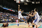 03 March 2016: Duke's Oderah Chidom. The Duke University Blue Devils played the University of Virginia Cavaliers at the Greensboro Coliseum in Greensboro, North Carolina in the Atlantic Coast Conference Women's Basketball tournament and a 2015-16 NCAA Division I Women's Basketball game. Duke won the game 57-53.