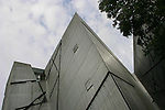 The Jewish Museum, designed by architect Daniel Libeskind.  Berlin, Germany