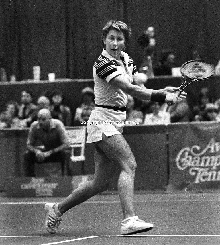 Avon Tennis, 1987<br />