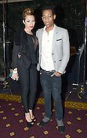 Karina Pasian and Tyler James Williams