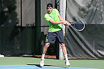 14 May 2016: Dartmouth's Max Schmidt. The Tulane University Green Wave played the Dartmouth College Big Green at the Cone-Kenfield Tennis Center in Chapel Hill, North Carolina in a 2015-16 NCAA Division I Men's Tennis Tournament First Round match. Tulane won the match 4-0.