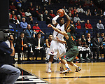 "Ole Miss vs. Miami at the C.M. ""Tad"" Smith Coliseum in Oxford, Miss. on Friday, November 25, 2011. Ole Miss won 64-61 in overtime."