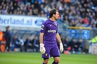 VOETBAL: HEERENVEEN: Abe Lenstra Stadion, SC Heerenveen - Vitesse, 21-01-2012, Vitesse-keeper Piet Velthuizen (#22), Eindstand 1-1, ©foto Martin de Jong