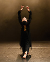 "London, UK. 09.03.2017. Kathak dancer, Aakash Odedra, dances ""Echoes"", choreographed by Aditi Mangaldas, in a double bill (alongside ""I Imagine""), in the Lilian Baylis Studio, Sadler's Wells. Photograph © Jane Hobson."