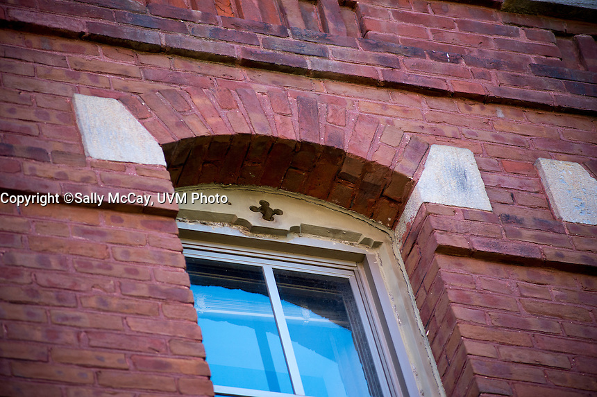 Old Mill Building Detail