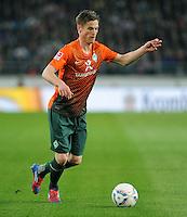 FUSSBALL  1. BUNDESLIGA  SAISON 2011/2012  31. SPIELTAG 13.04.2012 VfB Stuttgart - SV Werder Bremen Markus Rosenberg (SV Werder Bremen) am Ball