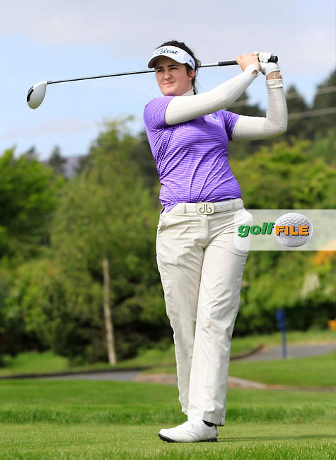 Paula Grant (Lisburn) on the 7th tee during Round 1 of the Irish Women's Open Strokeplay Championship at Dun Laoghaire Golf Club on Saturday 23rd May 2015.<br /> Picture:  TJ Caffrey / www.golffile.ie