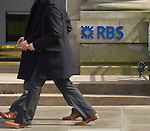 London May8th (FILE PICTURE) Royal Bank of Scotland (RBS), the bank majority owned by the UK taxpayer, today reported a loss of &pound;857 million for the first three months of the year after a &pound;4.9 billion write down on failed investments and toxic loans all but wiped out its profits. <br /> <br /> <br /> ***Standard Licence  Fee&amp;#39;s Apply To All Image Use***<br /> Marco Secchi /Xianpix<br />  tel +44 (0) 845 050 6211<br />  e-mail ms@msecchi.com or sales@xianpix.com<br /> www.marcosecchi.com