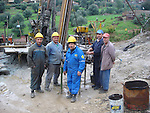 Western Mediterranean Zinc, a consortium of Australia's Terramin and the Algerian government, doing exploration drilling of zinc deposits at the Tala Hamza mine near Bejaia in northeast Algeria