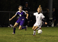 Girls Soccer vs Yorktown 10-21-09 Regional