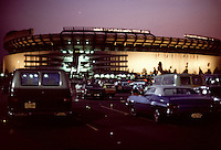 The Grateful Dead Live at Giants Stadium 02 September 1978. Exterior View of the Stadium after the show.
